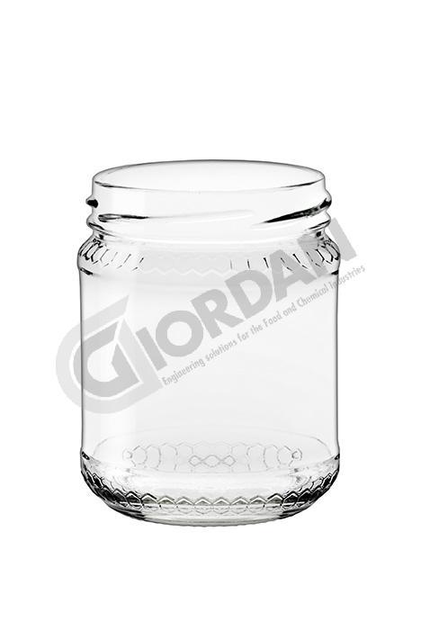 GLASS ohne deckel 250 GR