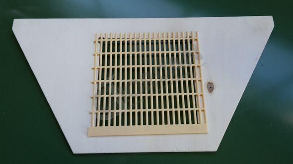 ABSPERRGITTER PLATTE 43x50 cm