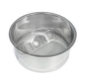 STRAINER. Coarse Stainless steel strainer for use with 200-400 kg honey tanks
