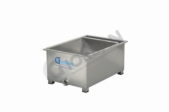 TANK. UNHEATED. WITH STRAINER AND PUMP CONNECTION