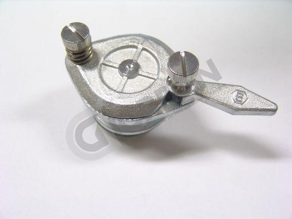 VALVE. Chrome plaated brass valve with clean dripfree cut-off. DN50
