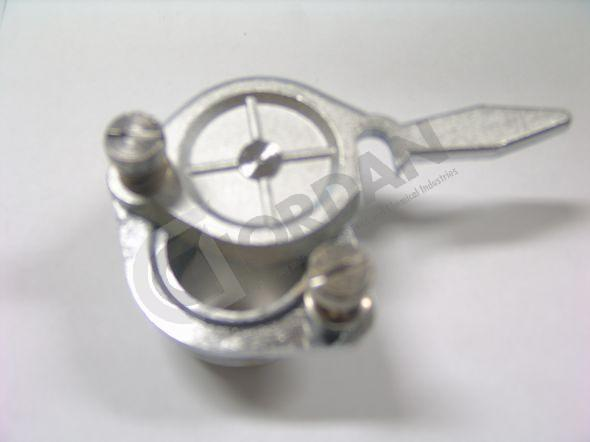 VALVE. Chrome plaated brass valve with clean dripfree cut-off. DN40