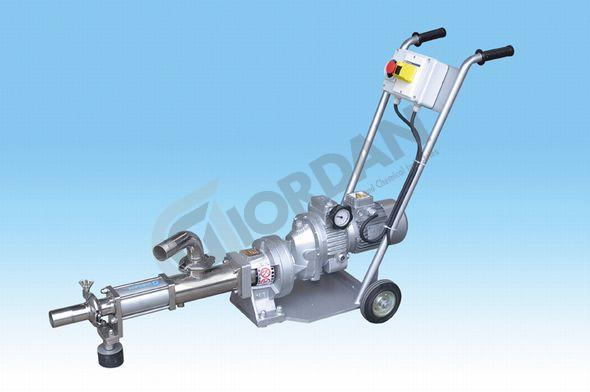 STAINLESS STEEL PROGRESSIVE CAVITY PUMP. WITH SPEED VARIATOR