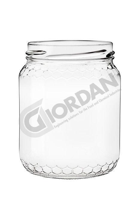 GLASS ohne deckel 500gr